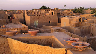 clay building Djenne Mali